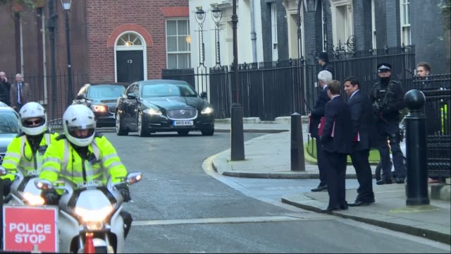 Supreme Court judgement Parliament must vote before Article 50 is triggered Downing Street David Davis MP waiting for his ministerial car and talking...