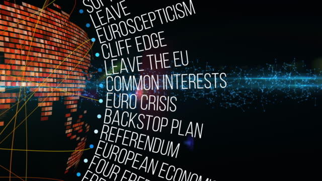 brexit terms - geographical locations stock videos & royalty-free footage