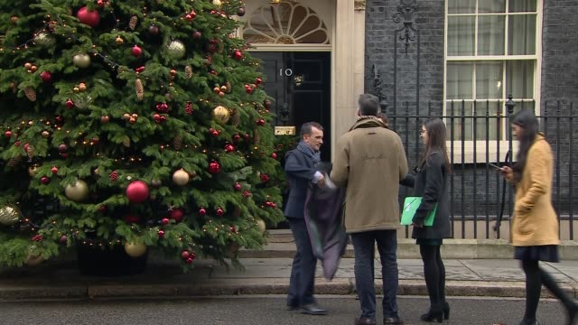stockvideo's en b-roll-footage met theresa may another national poll on eu withdrawal will do irreparable damage to british politics england london downing street ext arrivals at... - amber smith