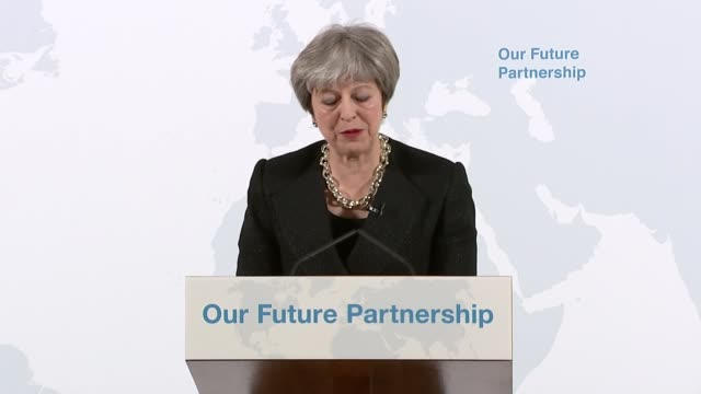 Theresa May Mansion House speech Theresa May speech SOT Reciprocal commitments to ensure fair and open competition an independent arbitration...