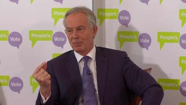 tony blair speech at the british academy england london westminster the british academy tony blair question and answer session sot [what would you do... - double chance stock videos & royalty-free footage