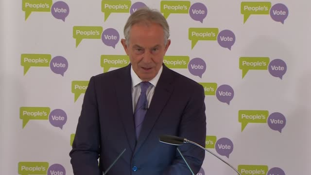 tony blair speech at the british academy; england: london: westminster: the british academy: tony blair speech sot . - country in crisis, government... - hypnosis stock videos & royalty-free footage