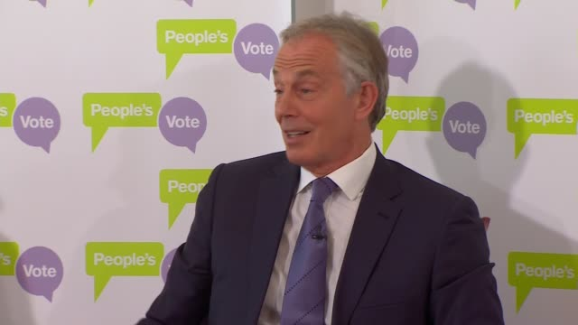 tony blair speech at the british academy england london westminster the british academy tony blair question and answer session sot possible but... - tony blair stock videos and b-roll footage
