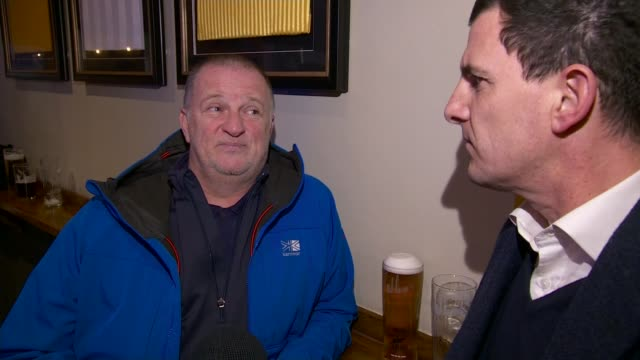 views on brexit developments from west midlands uk west midlands football fans outside molineux stadium leaping wolf pub vox pops adi factory in... - tattoo stock videos and b-roll footage