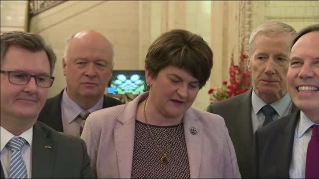 Warnings from regional political leaders on possible Northern Ireland special deal NORTHERN IRELAND Belfast Stormont Arlene Foster MLA along with DUP...