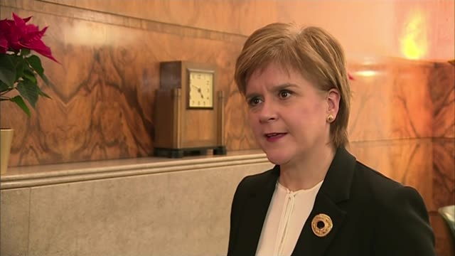 Warnings from regional political leaders on possible Northern Ireland special deal SCOTLAND Edinburgh INT Nicola Sturgeon SNP interview SOT If they...
