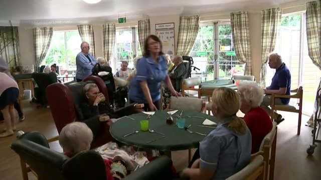 watchdog warns of risks to medical supplies from nodeal brexit england nottingham asha healthcare int nurse feeding elderly woman medicine on spoon... - medical resident stock videos and b-roll footage