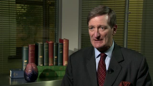 white paper on negotiation objective to be published dominic grieve mp set up shot with reporter / interview sot ben bradshaw mp set up shot with... - dominic grieve stock videos and b-roll footage