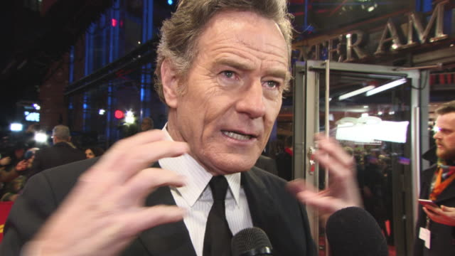 INTERVIEW Brian Cranston on his delight at working with Wes Anderson at 68th Berlin Film Festival Isle of Dogs Opening Red Carpet at 68th Berlin Film...