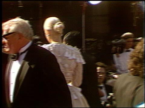 brian dennehy at the 1993 emmy awards entrances at the pasadena civic auditorium in pasadena, california on september 19, 1993. - brian dennehy stock videos & royalty-free footage