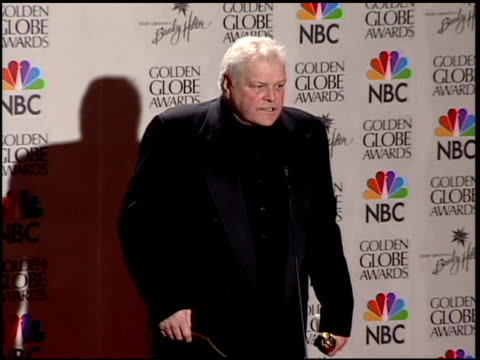 brian dennehy at the 2001 golden globe awards at the beverly hilton in beverly hills, california on january 21, 2001. - brian dennehy stock videos & royalty-free footage
