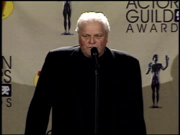 brian dennehy at the 2001 screen actors guild sag awards at the shrine auditorium in los angeles, california on march 11, 2001. - brian dennehy stock videos & royalty-free footage