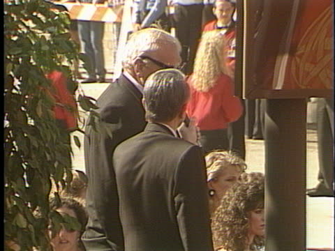 brian dennehy at the emmy awards 1993 at pasadena civic. - brian dennehy stock videos & royalty-free footage