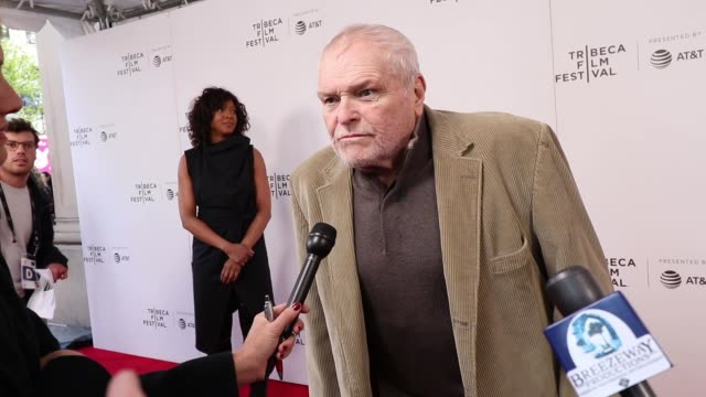 interview brian dennehy attend the driveways screening during the 2019 tribeca film festival at village east cinema on april 30 2019 in new york - brian dennehy stock videos & royalty-free footage