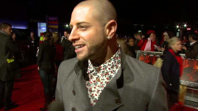 brian friedman on the x-factor, the contestants, the production at the red uk premiere at london england. - the x factor stock videos & royalty-free footage
