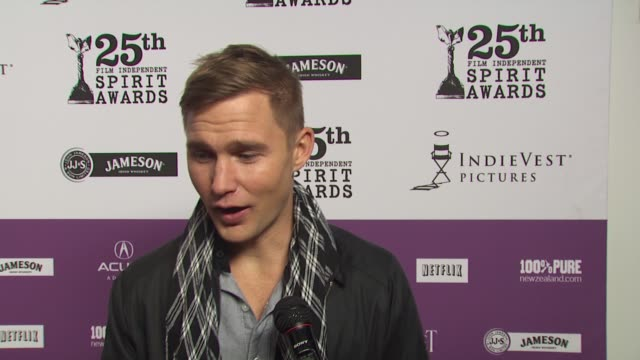 brian geraghty on the independent spirit awards, on his oscar plans, and on if there's anyone he really wants to meet while at the oscars. at the... - independent feature project stock videos & royalty-free footage