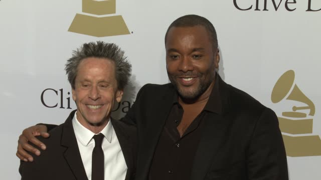 vídeos de stock, filmes e b-roll de brian grazer and lee daniels at the 2017 pregrammy gala honoring debra l lee with grammy salute to industry icons award at the beverly hilton hotel... - brian grazer