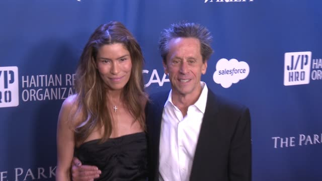 brian grazer at 5th annual sean penn & friends help haiti home gala benefiting j/p haitian relief organization at montage hotel on january 09, 2016... - montage beverly hills stock videos & royalty-free footage