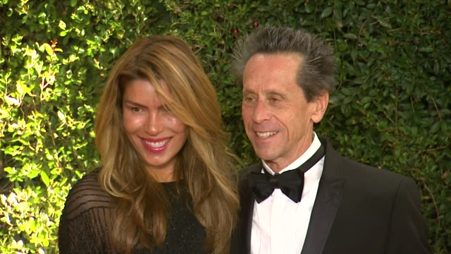 brian grazer at academy of motion picture arts and sciences' governors awards in hollywood ca on - academy of motion picture arts and sciences stock videos & royalty-free footage