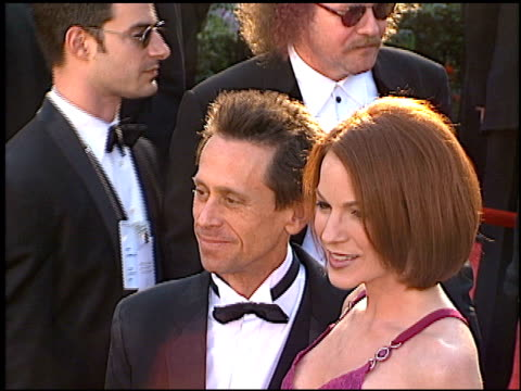 vídeos de stock e filmes b-roll de brian grazer at the 1996 academy awards arrivals at the shrine auditorium in los angeles california on march 25 1996 - 68.ª edição da cerimónia dos óscares