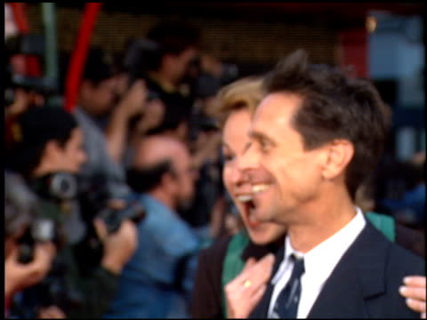 brian grazer at the 'french kiss' premiere at grauman's chinese theatre in hollywood california on may 1 1995 - zungenkuss stock-videos und b-roll-filmmaterial