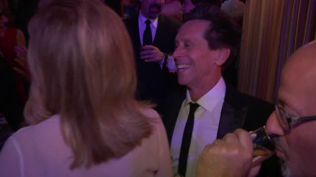 brian grazer at the inside the vanity fair oscar party 2010 at west hollywood ca - oscar party stock videos & royalty-free footage