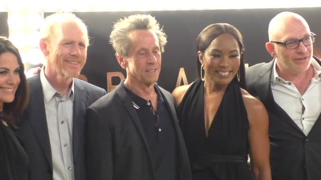 Brian Grazer Ron Howard Angela Bassett Akiva Goldsman at the Premiere Of National Geographic Channel And GE's Breakthrough at Pacific Design Center...