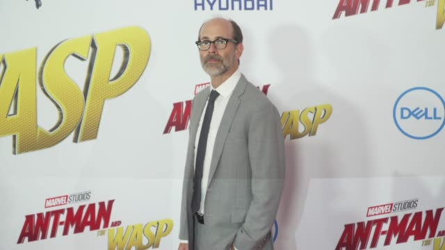 Brian Huskey at the 'AntMan and the Wasp' World Premiere at the El Capitan Theatre on June 25 2018 in Hollywood California