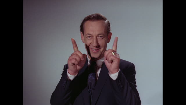1964 - brian matthew introduces the wackers - presenter stock videos & royalty-free footage