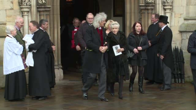 brian may anita dobson on march 31 2018 in cambridge england - anita dobson stock videos & royalty-free footage