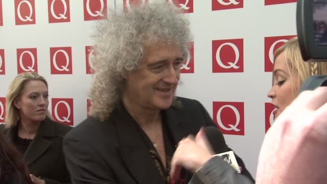 Brian May at the The Q Awards 2011 at London England