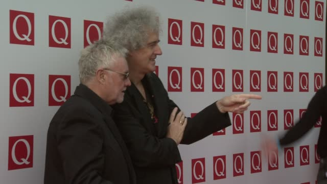 Brian May Roger Taylor at the The Q Awards 2011 at London England