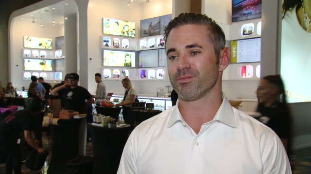 brian mitchell, shryne co-founder & chief executive officer on the store opening at shryne group's stiiizy flagship store grand opening in los... - celebritet bildbanksvideor och videomaterial från bakom kulisserna