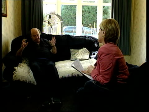 stockvideo's en b-roll-footage met s brian odell interviewed sot we looked at each other and said what are you in for he was in for removal of his bladder dur to bladder cancer - blaas urinewegstelsel