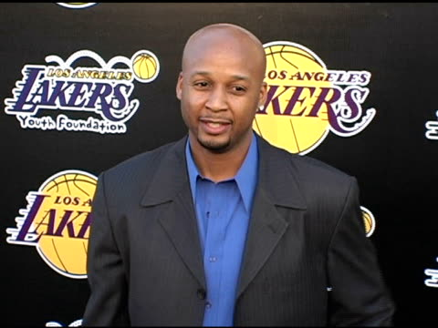 Brian Shaw at the LA Lakers and Celebrities 2nd Annual Las Vegas Poker Night at Barker Hangar in Santa Monica California on April 14 2005