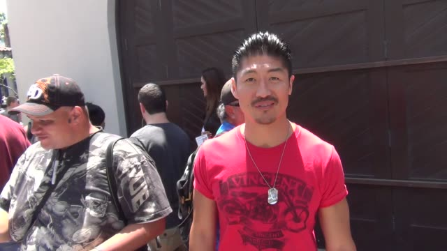 Brian Tee talks to us about Mortal Kombat on the street at San Diego Comiccon at Celebrity Sightings ComicCon International 2013 Celebrity Sightings...