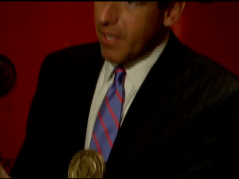 brian williams' peabody at the 65th annual peabody awards at the waldorf astoria hotel in new york, new york on june 5, 2006. - waldorf astoria new york stock videos & royalty-free footage