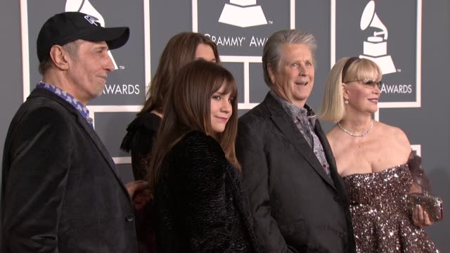 Brian Wilson and family at 54th Annual GRAMMY Awards Arrivals on 2/12/12 in Los Angeles CA