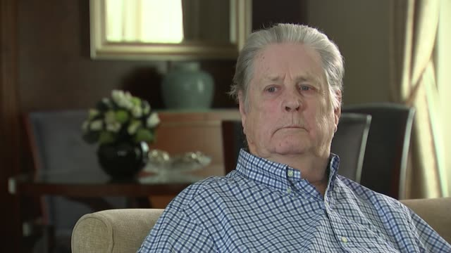 Brian Wilson celebrates the 50th anniversary of Beach Boys album 'Pet Sounds' ENGLAND London INT Brian Wilson interview SOT legacy of 'Pet Sounds'...