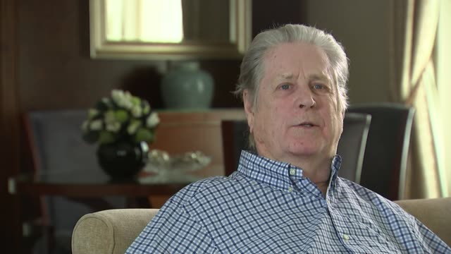 Brian Wilson celebrates the 50th anniversary of Beach Boys album 'Pet Sounds' Brian Wilson interview SOT