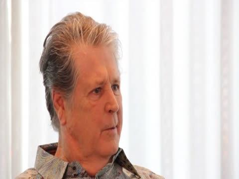Brian Wilson says he has a good feeling about the Beach Boys music