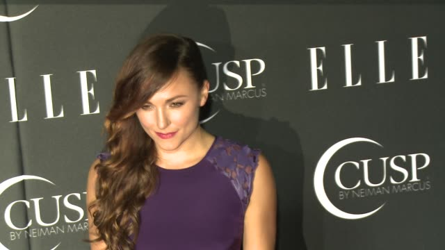 stockvideo's en b-roll-footage met briana evigan at 5th annual elle women in music celebration presented by cusp by neiman marcus at avalon on april 22, 2014 in hollywood, california. - neiman marcus