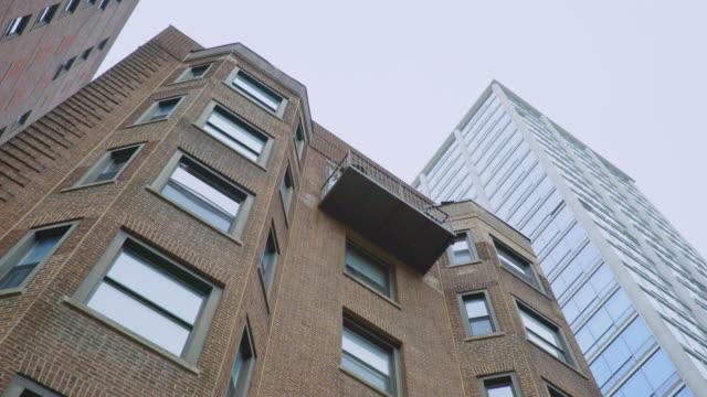 Brick Highrise Day Exterior