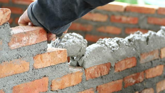 Brick installation