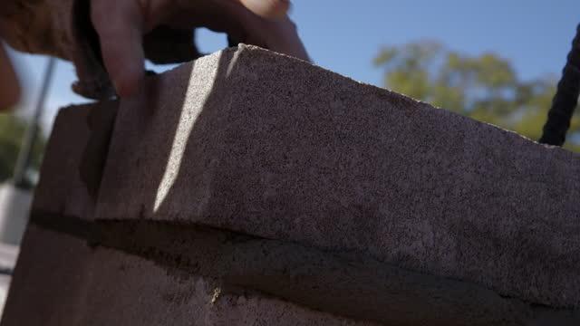 brick layer - brick stock videos & royalty-free footage