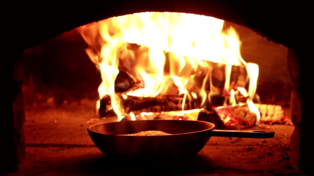 brick oven - hearth oven stock videos & royalty-free footage