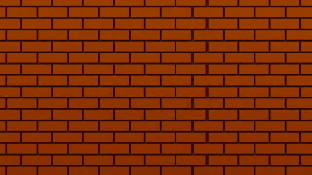 brick wall - cube stock videos & royalty-free footage
