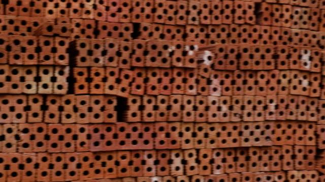 vidéos et rushes de mur de briques - brique