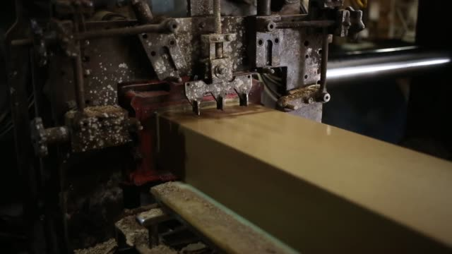 bricks are manufactured at the acme brick company plant in leeds, alabama, u.s., a conveyer belt carries an unbroken bar of clay into a kiln during... - plant process stock videos & royalty-free footage