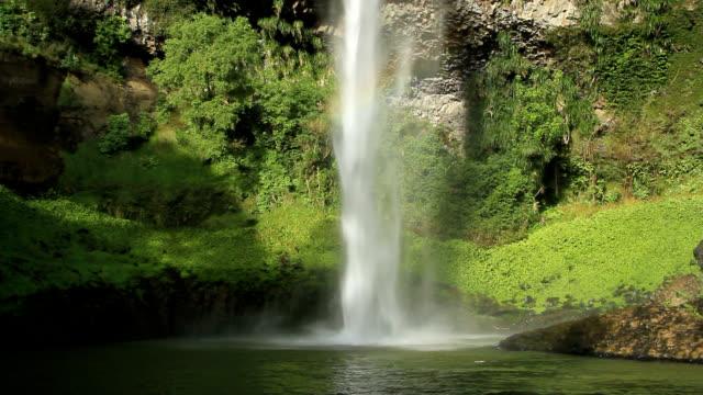 Bridal falls waterfall.